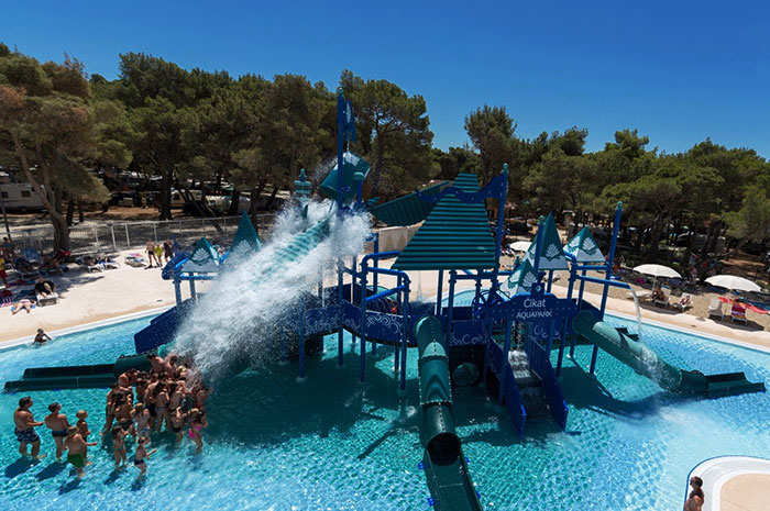 parc acvatic aquapark cikat mali losinj croatia