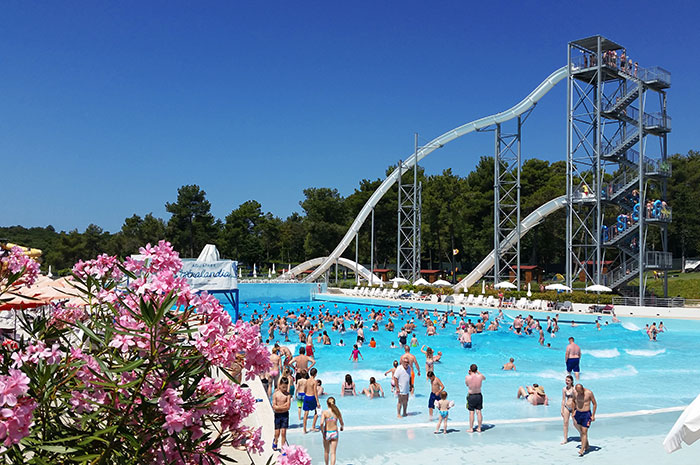 parc acvatic aquapark istralandia brtonigla croatia