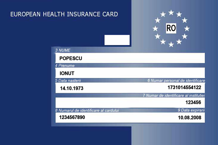 EHIC specimen, but you may need an extra Madeira travel insurance in covid times