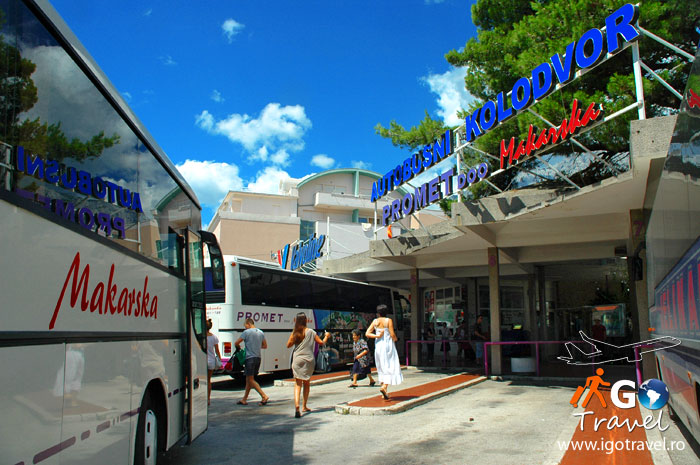 makarska bus station croatia